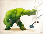 the Hulk  Brofist