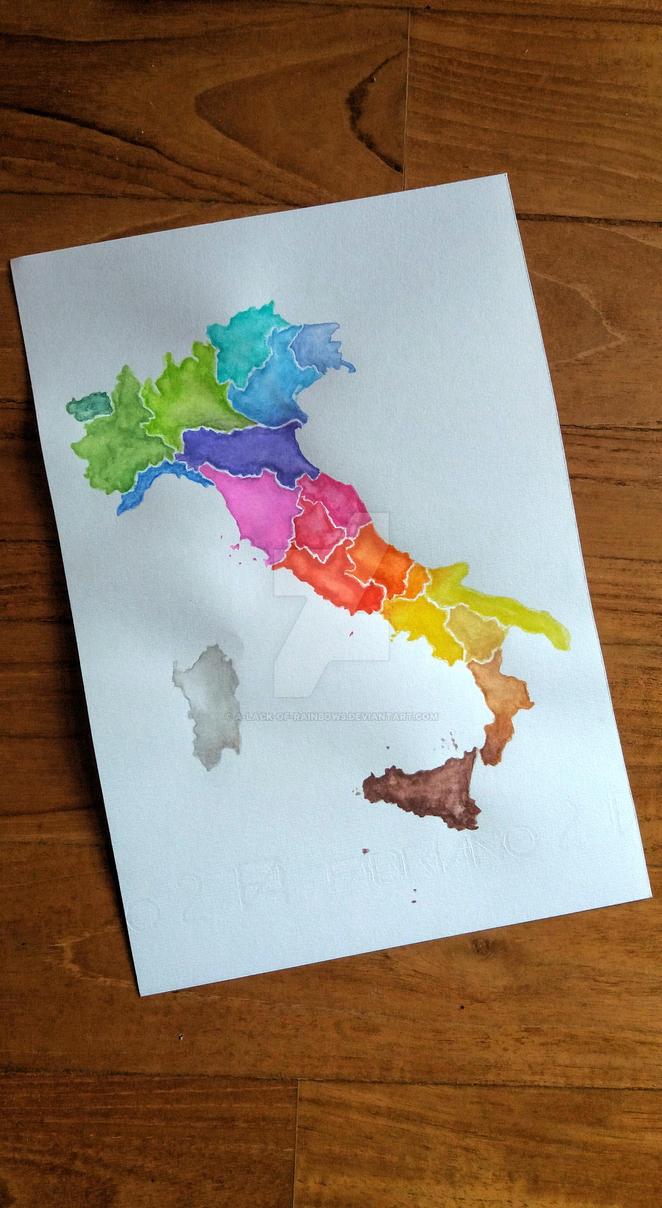 Dear Italy by A-Lack-of-Rainbows