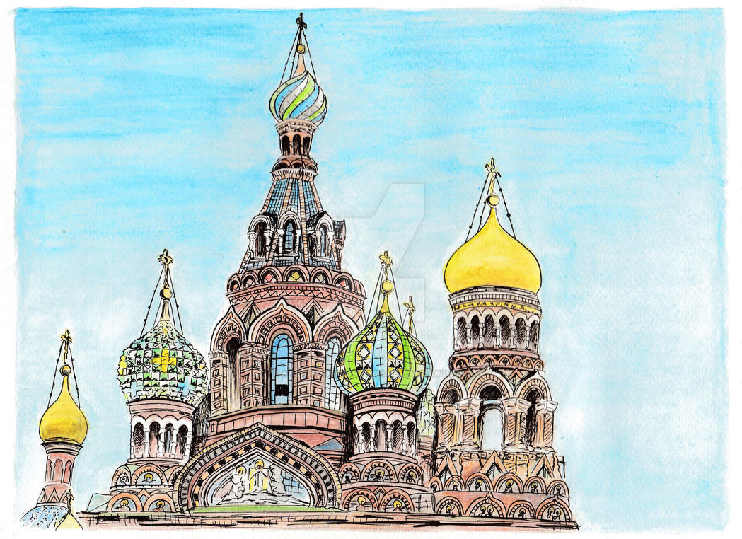 Saviour on Blood - Saint Petersburg by A-Lack-of-Rainbows