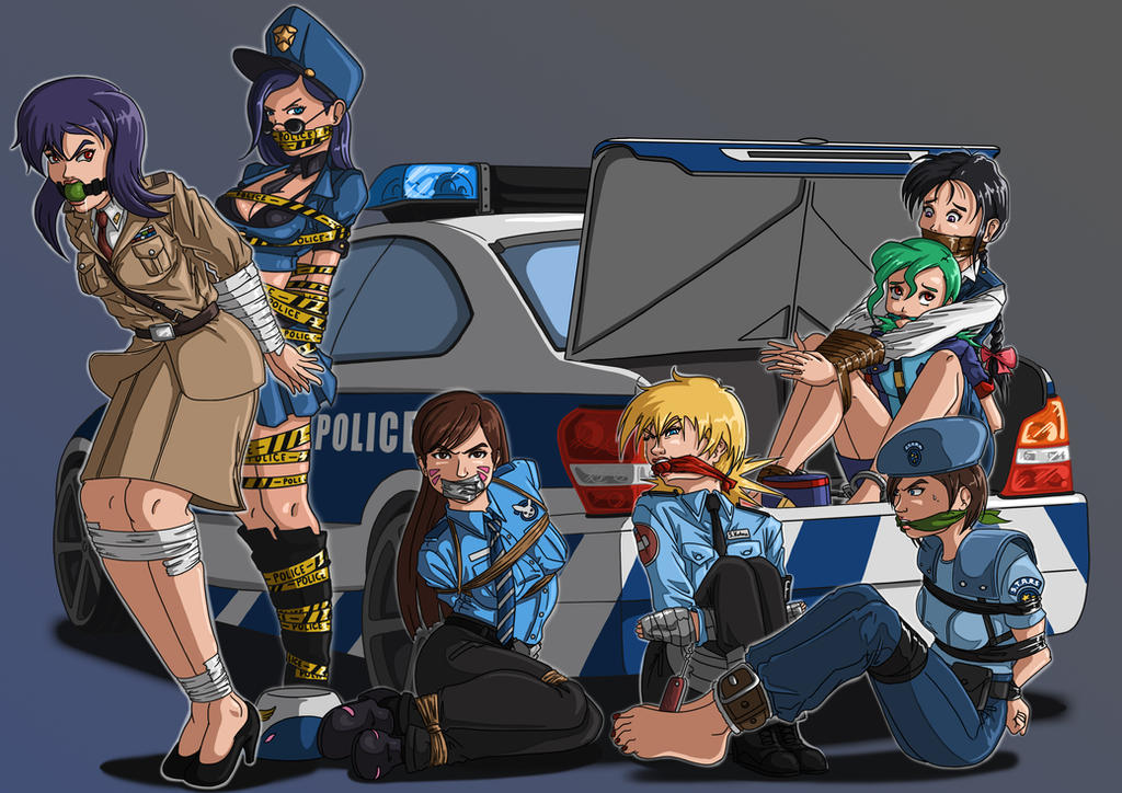 Draw-with-me: Police 7 by McBound