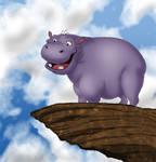 Hippo on Pride Rock