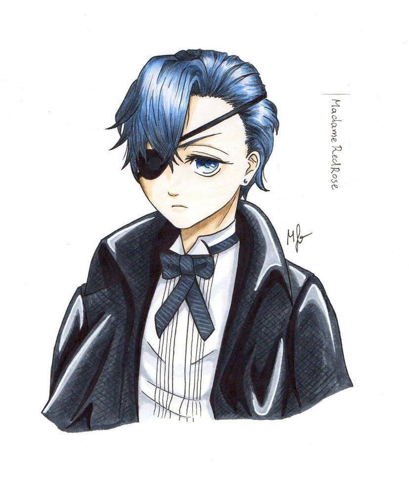 Ciel Phantomhive Wallpaper: Ciel Phantomhive From Black Butler By MadameRedRose On