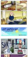 Just Another Day: SasuSaku Doujin