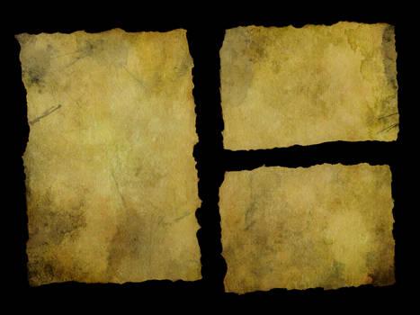 Torn Paper - Big Yellowed 3