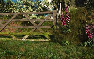 Foxglove Gate by struckdumb