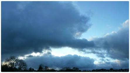 My Sky  - Lovely Blue by struckdumb