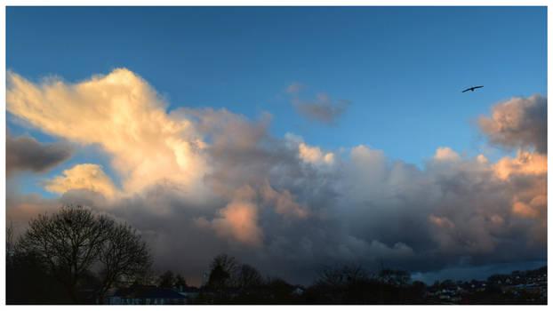 My Sky - Maxfield Parrish