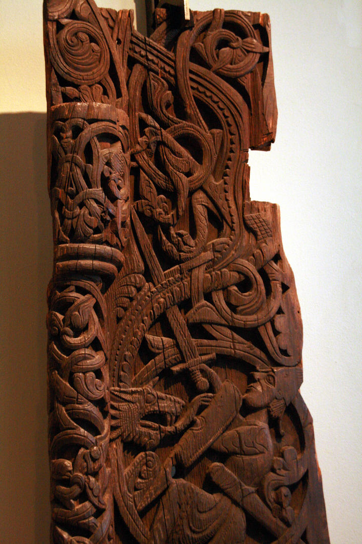 Norwegian woodcarving by eldharjar on deviantart