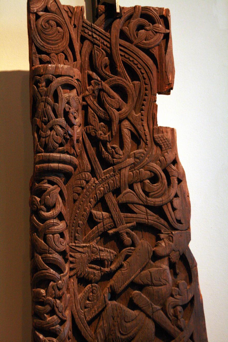 Norwegian woodcarving by eldharjar on deviantart