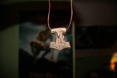 Handmade Torshammer necklace by Eldharjar
