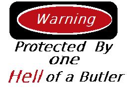 Warning Demon Butler by Deidara1fan