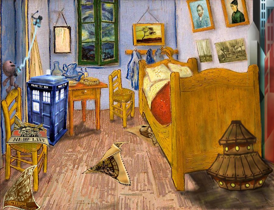 LBP Level Van Gogh 39 S Bedroom By Null Hypotheses On DeviantArt