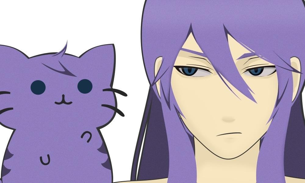 Kamui Gakupo and His Cat Appearance by Ashitira on DeviantArt