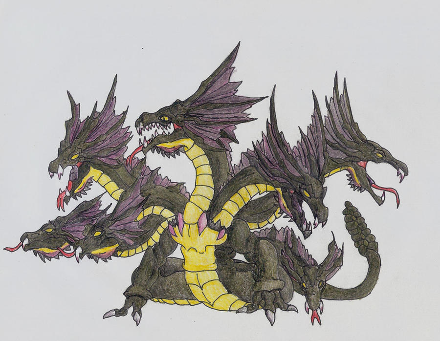Lernean Hydra Picture, Lernean Hydra Image Greek Mythology Hydra
