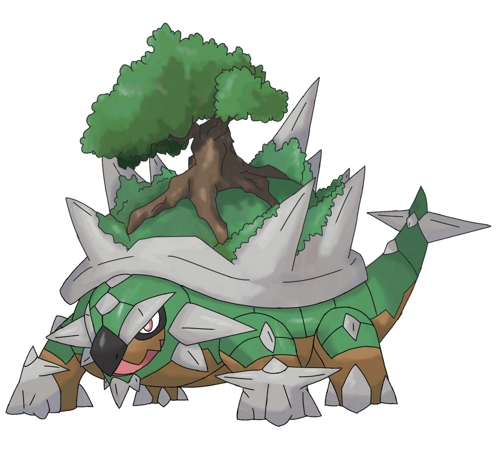 Mega Torterra By Trxpics On Deviantart