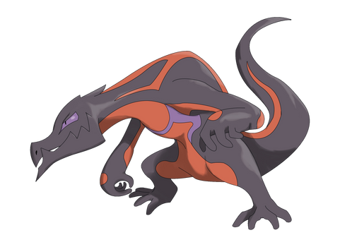 Salandit Male Evolution - Salazard