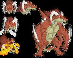 Nanatsu No Taizai OC-Berserker Dragon