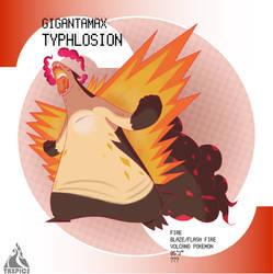 Gigantamax Typhlosion
