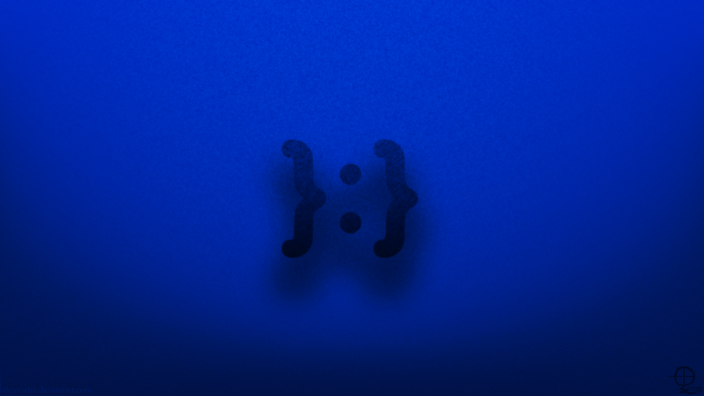 me gusta emoticon wallpaper redux indigo by alexyorim on