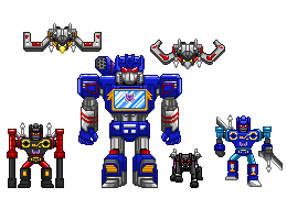 Soundwave and Minions by theSpaniel
