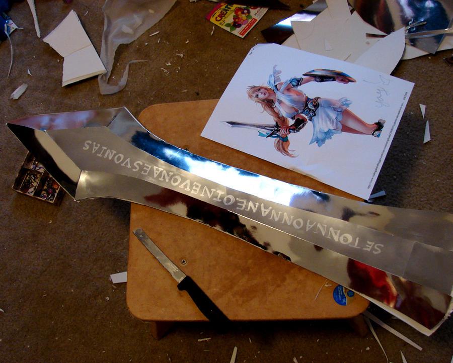Sophitia Soul Calibur sword
