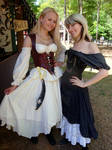 Hanging out at the GA Ren Fest