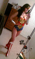 Wonder Woman test shot