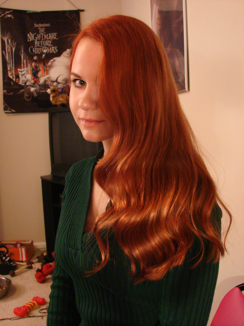 New Hair Color By Alisakiss On Deviantart