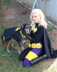 Batgirl and Batdog