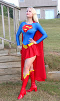 Supergirl classic suit