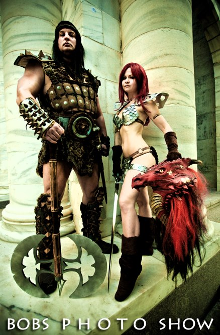 Conan and Red Sonja by AlisaKiss