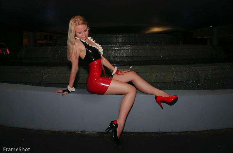 Harley Quinn latex by AlisaKiss