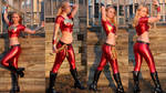 Wonder Girl collage