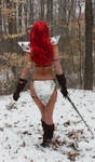 Red Sonja in the snow 2