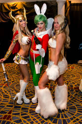 She-ra, Jaxxon, and Wampa. Oh my