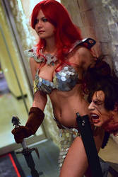 Red Sonja at Dragon Con 2015