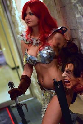 Red Sonja at Dragon Con 2015