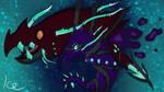 Ghost/Dragon Clawitzer by IceOfTheNight