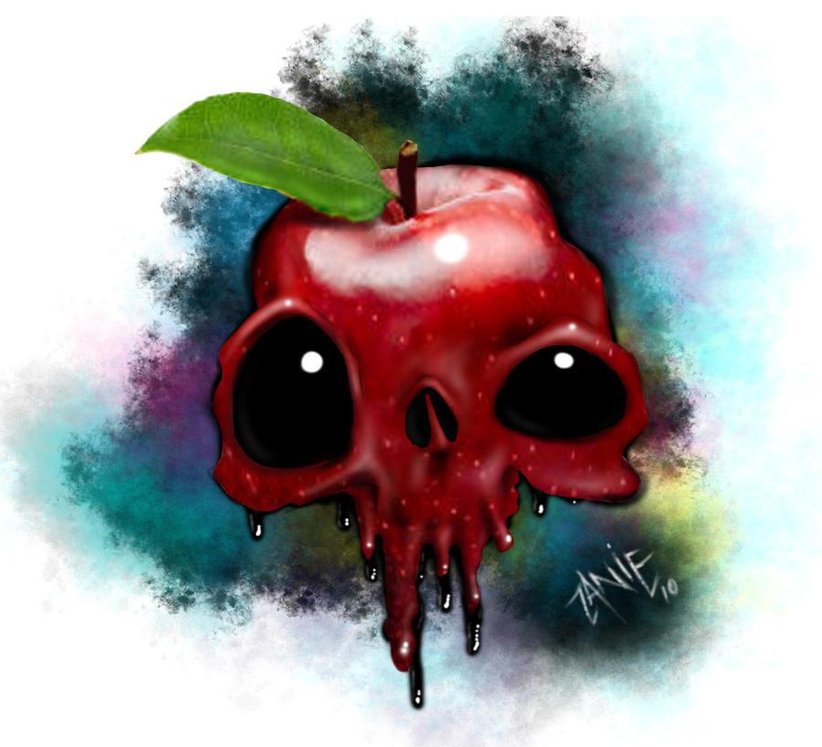 Apple Skull by johzany