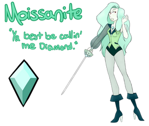 Moissanite- Wanna Fuse? by JibberJibbs