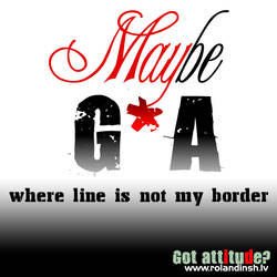Where line is not my border