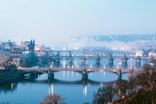 Prague Waking Up