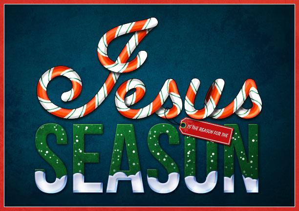 Jesus Is The Reason For Season By Dcloud