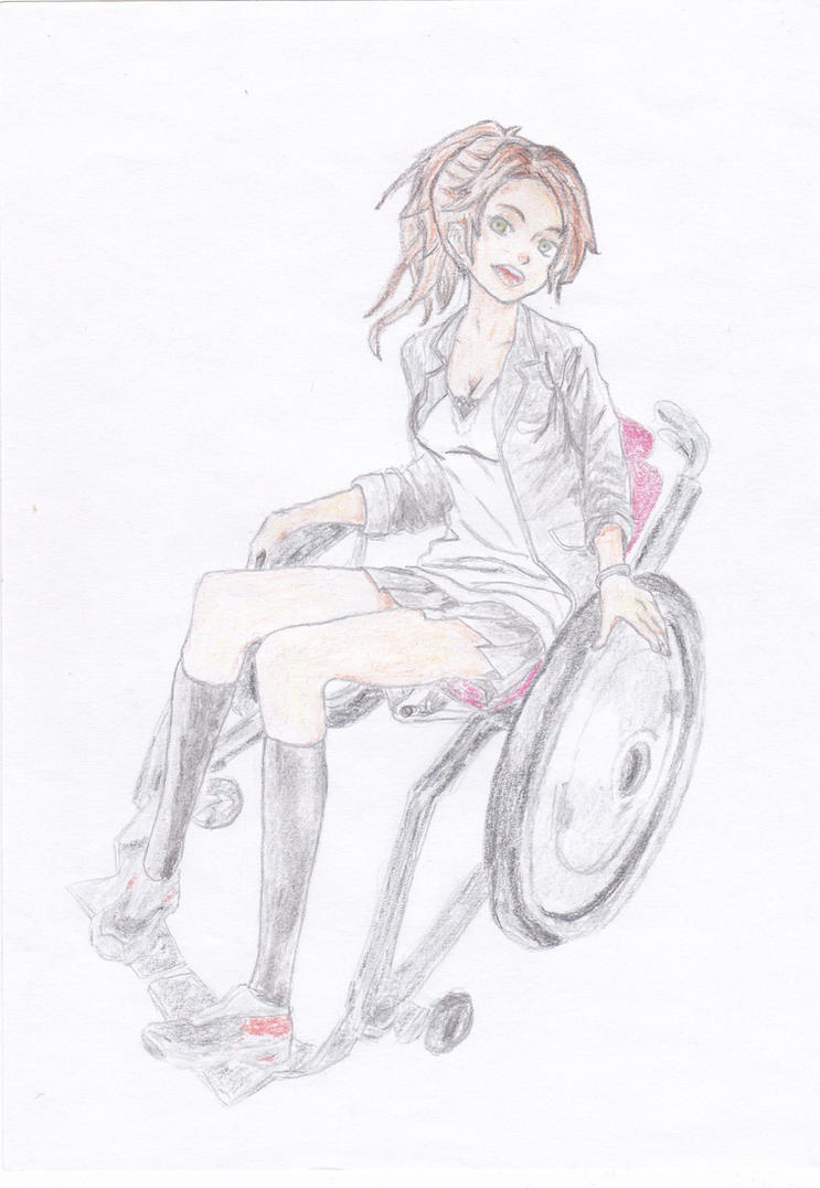 Girl In The Wheelchair