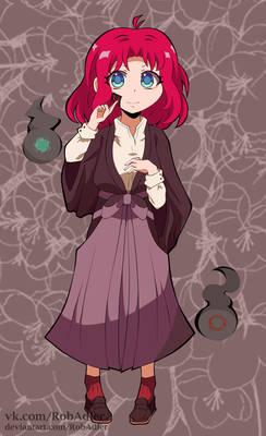 JSH-k OC - Eri-chan evil spirit?