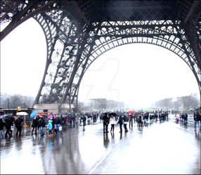 Tour Eiffel  Winter  Paris MjY