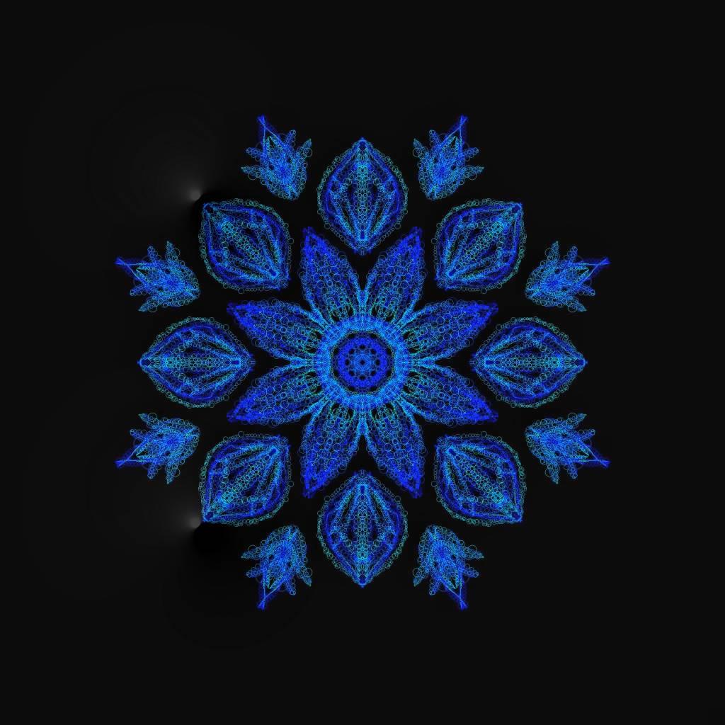 Positive Vibes Mandala...
