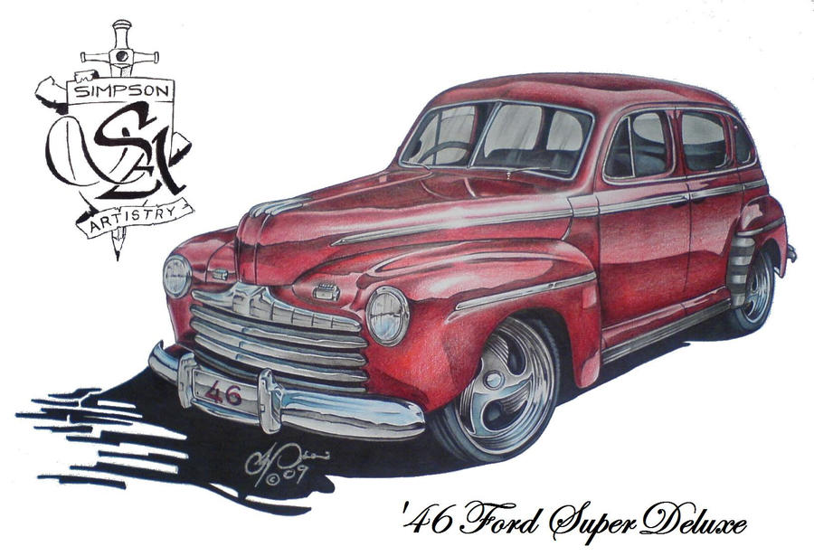 46 Ford Super Deluxe