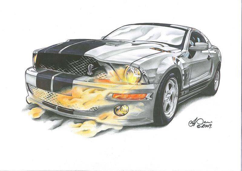 2010 Mustang by SIMPSONARTISTRY