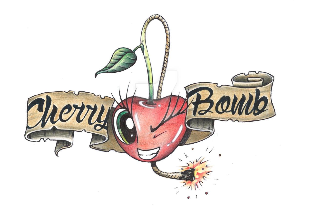 Cherry Bomb by SIMPSONARTISTRY